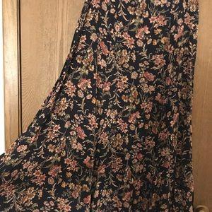 Laura Ashley Vintage Floral Skirt